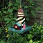 מתקן האכלה לציפורים בגינה- דגם מגדלור
