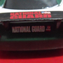 מכונית מרוצים ספורט צעצוע וינטג' ירוק לבן / המשמר הלאומי/ פלסטיק מתנה לילד / ילדה קלאסית/ national Guard toy car