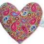 כרית חימום לב I כרית לב לחימום במיקרוגל I כרית חימום גדולה בצורת לב I מתנה יפה למי שאוהבים I כרית חימום עם ריח לבנדר טבעי I