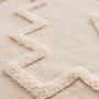 שטיח כותנה נורדי בגוון שמנת