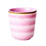 כוס מלמין דמוי קרמיקה ורוד | RICE DK | SOFI