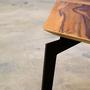 קוביה דו מימדית - שולחן סלון מודרני מעוצב כקוביה