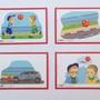 ערכת סיפורים ברצף- שמונה סיפורי רצף החל מרצף של שתי תמונות ועד לרצף של חמש תמונות