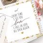 מחברת מעוצבת ליום האהבה | Valentine | רעיון למתנה | מחברת עם ספירלה בצבע זהב
