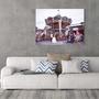 קרוסלה בעיר - תמונת קנבס מעוצבת לבית | תמונת קנבס מעוצבת למשרד | תמונת קנבס מקורית