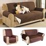 3 כיסויים דו צדדיים לספה תלת מושבית, דו מושבית וספת יחיד, לשדרוג מראה הסלון שלכם תוך שניות