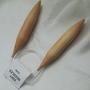 """מסרגות עגולות מבמבוק 25 מ""""מ - לסריגה עם חוטים עבים מאוד"""
