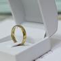 טבעת נישואין לגבר | טבעת זהב 14 קארט | טבעות נישואין לאשה | טבעת נישואין בהזמנה אישית