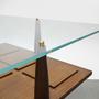 שולחן סלון דניש וינטאג׳, שולחן סלון ריבועי וינטאג׳, שולחן ריבוע