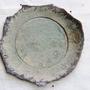 צלחת הגשה טורקיז - קרמיקה עבודת יד