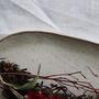 צלחת הגשה מעוצבת- קרמיקה עבודת יד