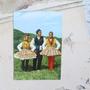 גלויה מצולמת. איורי וינטאג'. גלויות ישנות. גלויות עתיקות. פולקלור אירופאי. מכתבים ישנים. סקראפבוקינג. אספנות וינטאג'. חומרי יצירה.