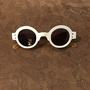 משקפי שמש מעוצבים, משקפי שמש עגולים, משקפי שמש לבנים, משקפי שמש מיוחדים
