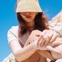 כובע מצחייה קש טבעי