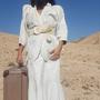 חגורת מותן, חגורה עבה, חגורה לנשים, חגורה לבנה, חגורה בצבע קרם, חגורת עור, צבע שמנת, חגורה מידה M, חגורה וינטג', חגורה מיוחדת