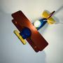 תאורת לילה לילדים בדמוי מטוס