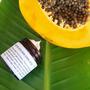 פילינג פפאיה, אננס וזרעי מורינגה לעור מעורב שמן