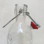 בקבוק זכוכית מעולה עם ידית נשיאה 1200 מיליליטר תוצרת איטליה אטום היטב