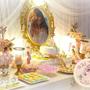 שולחן מתוק לבת מצווה, שולחנות מתוקים לבת מצווה, עיצוב שולחנות בר מתוקים, בר מתוקים לאירועים, יום הולדת בלט, מקדמה של