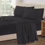 מצעים שחורים בתפזורת בכל הגדלים   סדין יחיד שחור   סדין שחור למיטה זוגית   ציפה   סדין שחור   סדין מיטה וחצי