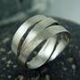 טבעת מלופפת טבעת ליפוף כסף