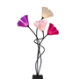 מנורה מעוצבת פרח ארבעה קנים