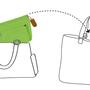 ארגונית לתיקי נשים | גודל בינוני | אדום | מתאים לתיק גדול לשימוש יום יומי