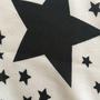 צעיף כוכבים לבן