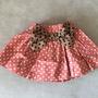 חצאית פפיון נקודות