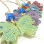 זוג פרפרים בכל מיני צבעים...