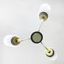 מנורת פליז וינטאג׳ נדירה, מנורת ארט דקו
