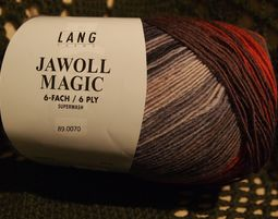 צמר Jawoll Magic 6Ply של Lang, צבע 89.0070 - צמר גרביים