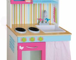 מפואר מטבח עץ לילדים | מרמלדה מרקט QP-64