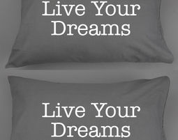 זוג ציפיות Live Your Dreams - ציפיות