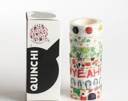 QUINCHI מארז וואשי שמח - Washi Tape