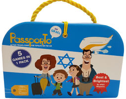 NEW- PASSPORTO ISRAEL - ENGLISH VERSION - מדריך טיולים