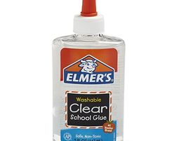 Elmer's Liquid School Glue, Clear, Washable, 5 Ounces, 1 Count - Elmer's Liquid School Glue, Clear, Washable, 5 Ounces, 1 Count
