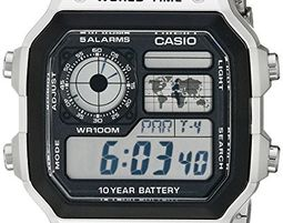Casio Men's Digital Watch AE1200WHD-1A - Casio Men's Digital Watch AE1200WHD-1A