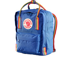 תיק גב ריינבואו כחול Kånken Mini Limited Edition - Fjällräven