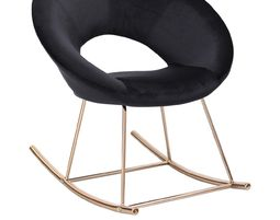 Rocking chair / swing in velvet - 2 - מתנות