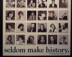 Well-Behaved Women Seldom Make History - פוסטר, פמיניזם, Well-behaved Women Seldom Make History