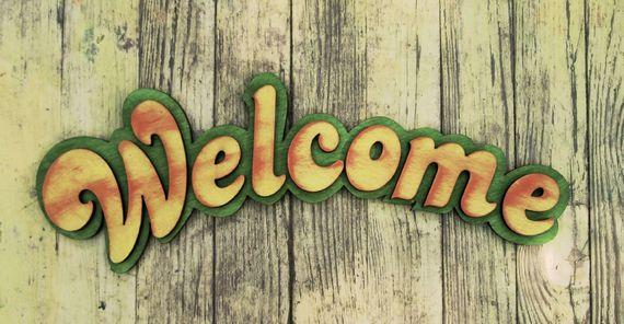 שלט לבית ברוכים הבאים | woodstock | מרמלדה ...