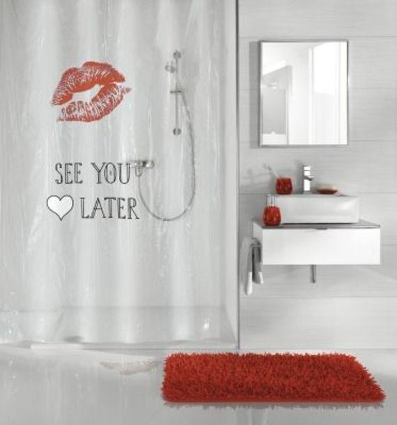 עדכני וילון אמבטיה שקוף מעוצב   מיוחד   וילונות אמבטיה   למקלחת PZ-73