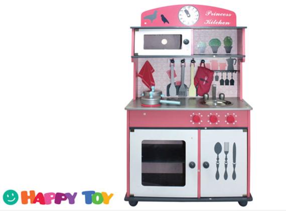 מדהים מטבח ילדים | מטבח מעוצב מעץ מלא | מטבח ילדים עשוי MDF כולל אביזרי HM-62