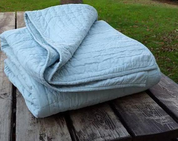 ניס סט קיץ / כיסוי מיטה BASECAMP BLUE למיטה יחיד | מרמלדה מרקט - קניות GC-78