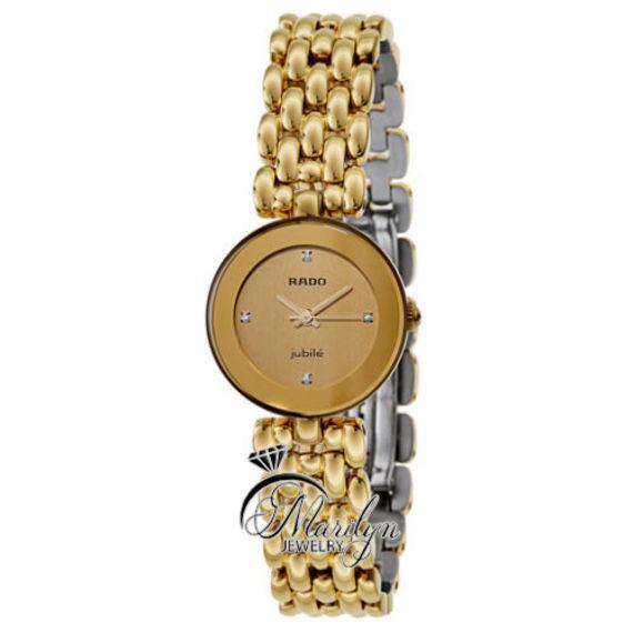 מבריק שעון יד נשים ראדו דגם R48745724 | מרלין תכשיטים | מרמלדה מרקט IE-94