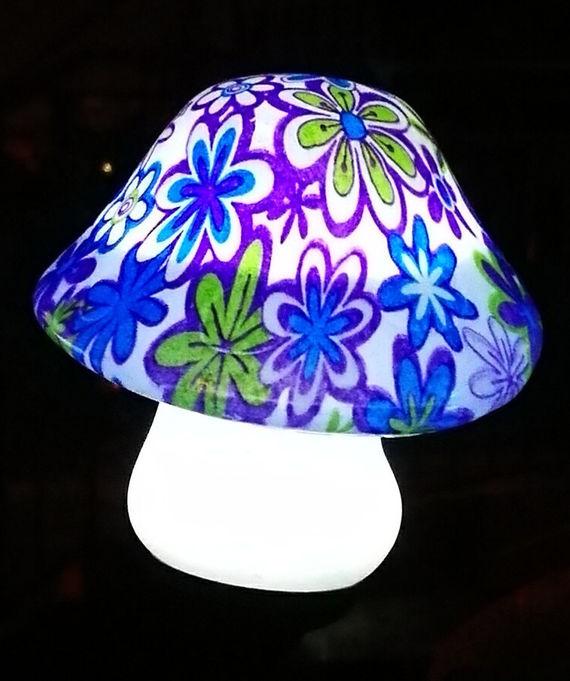 מעולה תאורת לד פטריה סולארית לגינה ולמרפסת | תאורה סולארית | מרמלדה מרקט RX-64