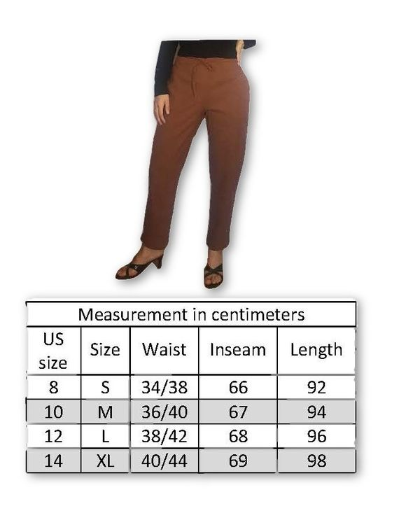 Himalayan Collective Womens Cotton Straight Leg Draw String Pants Black - Pants For Women