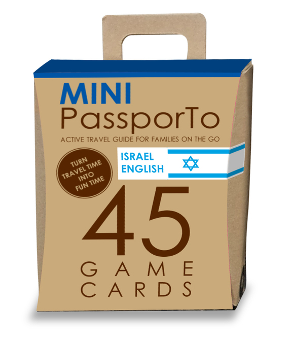 Mini PassporTo Israel English - משפחה מטיילת