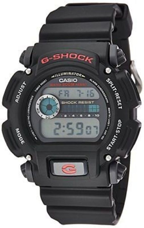 CASIO G-SHOCK DW9052-1V Men's Black Resin Sport Watch Water resistant 200m NEW - CASIO G-SHOCK DW9052-1V